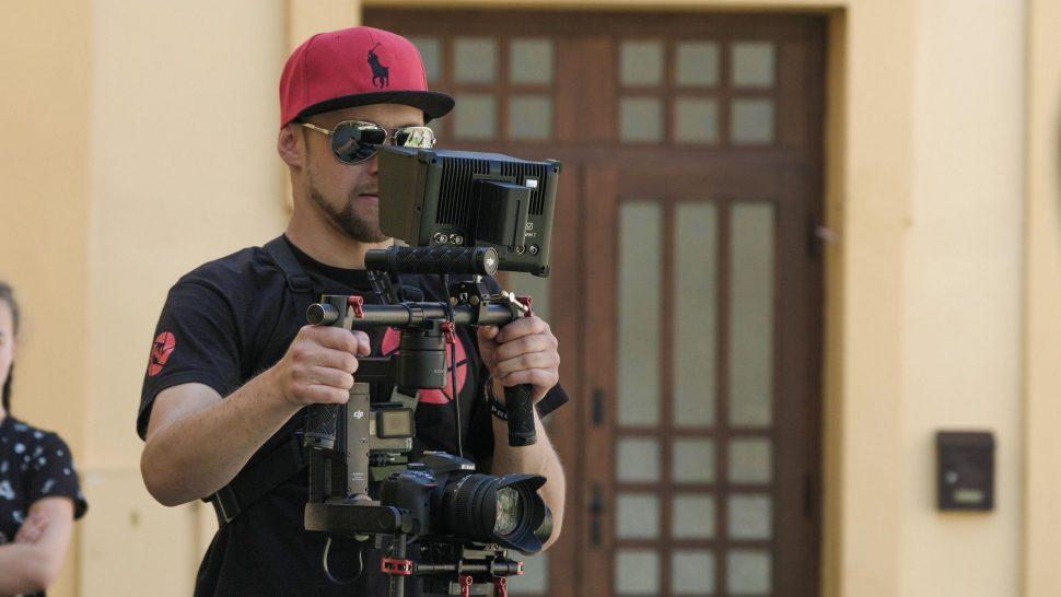 Michal a DJI Ronin M s Nikon D5300