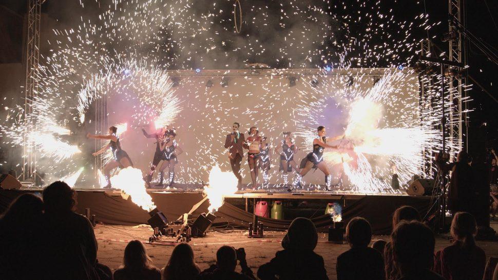 Pyroterra - vystoupení Polná vplamenech
